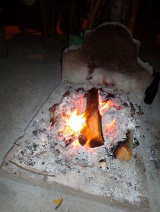 ...und Feuerchen am Abend!